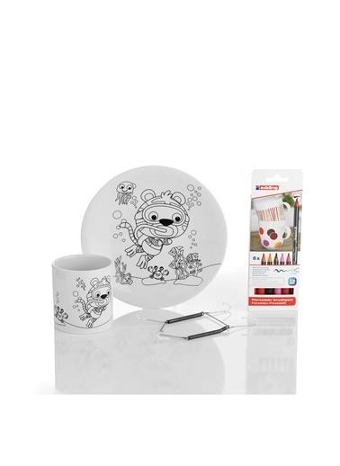 Kütahya Porselen Aktivite Seti 10803 Renkli